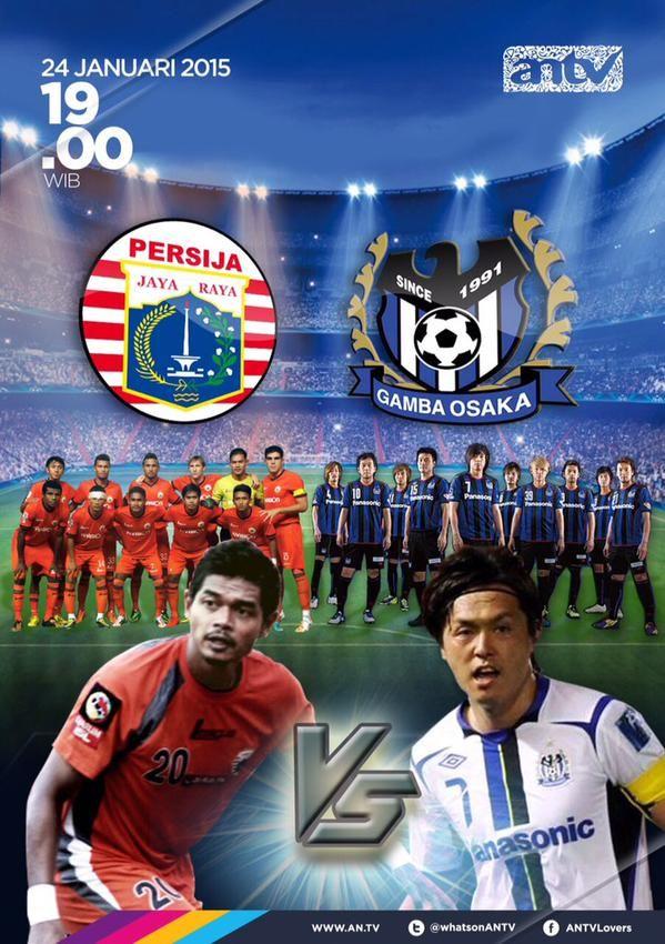 Hasil Lengkap Panasonic Cup 2015 : Persija vs Gamba Osaka