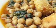 Potaje de Vigilia con espinacas los viernes de cuaresma