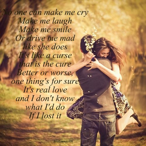 Kenny Chesney - love the lyrics, wish I cod have a love like this