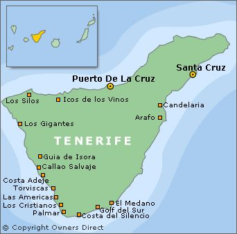 isle of tenerife canary islands