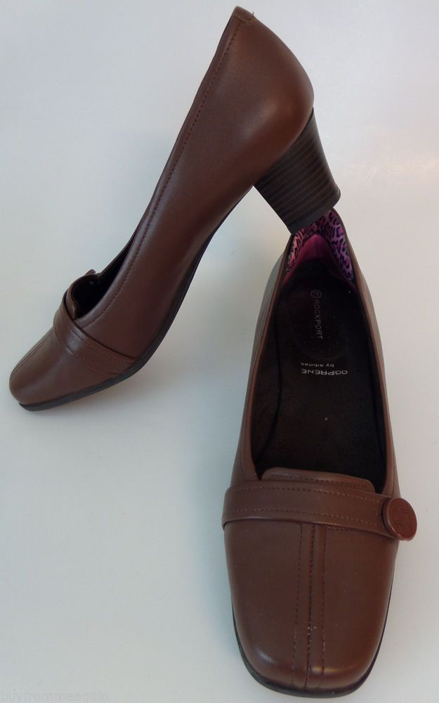 Rockport Adidas Brown Pumps Women Shoes Adiprene 9 10 #RockportAdidas  #PumpsSlipon | Shoes for Women @ Ebay | Pinterest | Pumps, Confidence and  eBay
