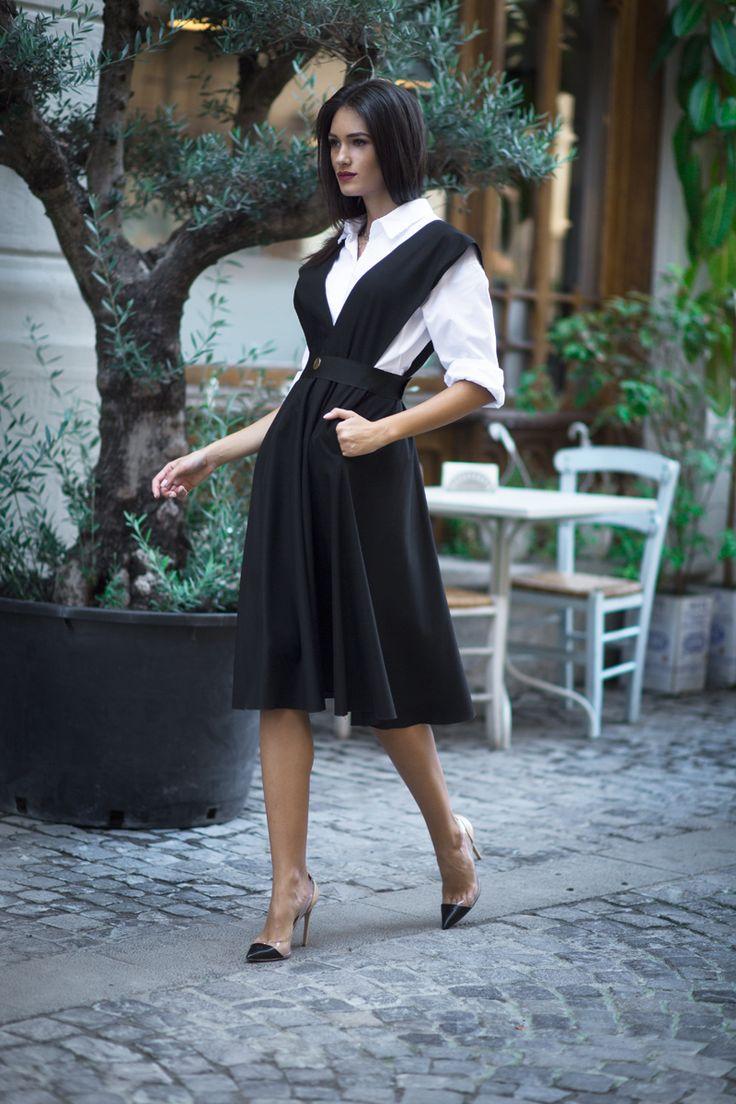 Tweed Belted Dress
