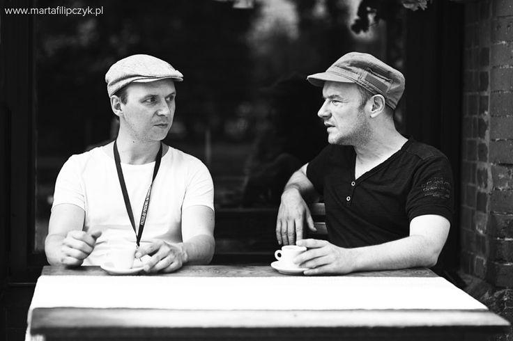 Piotr Łukaszczyk and Redbad Klijnstra #movie #film #shots #backstage #makingof #piotrlukaszczyk #redbadklijnstra