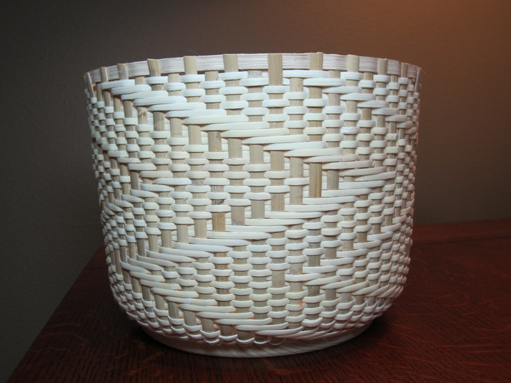 Cane Basket - almost done, just need to finish the top.