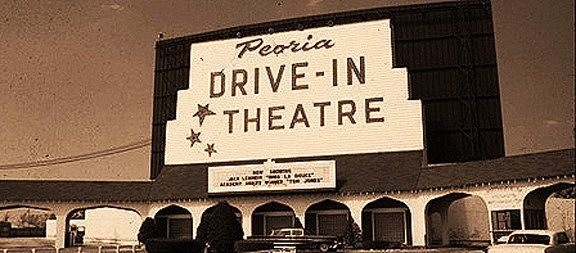 Peoria Drive In Long Gone Use To Be On Glen Between N University War Memorial Dr Illinois Many A Dates Nostalgia 1950 S And 1960
