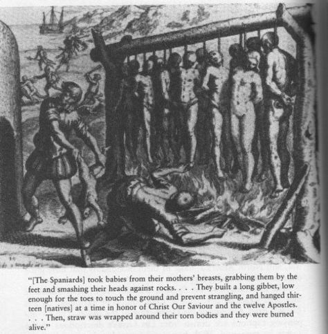 """The American Indian Holocaust, known as the """"500 year war"""" and the """"World's Longest Holocaust In The History Of Mankind And Loss Of Human Lives.""""   Genocide and Denying It: Why We Are Not Taught that the Natives of the United States and Canada were Exterminated Death Toll: 95,000,000 to 114,000,000 Columbus murdered over a million Native Americans."""