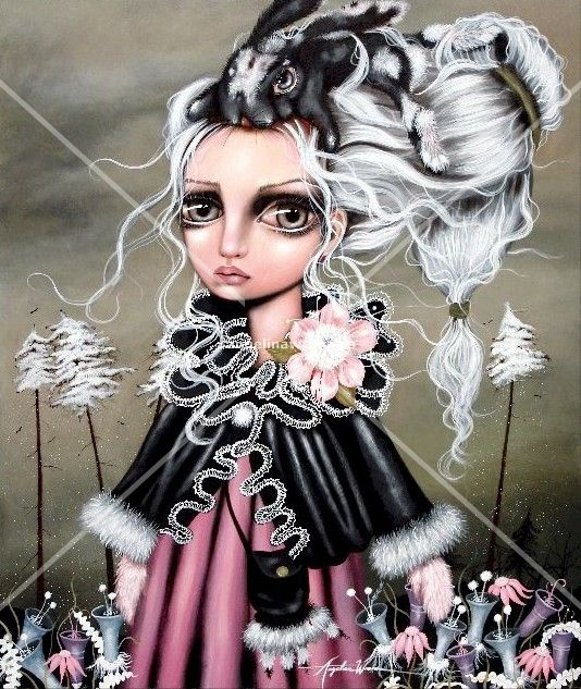 Angora | The Artwork of Angelina Wrona