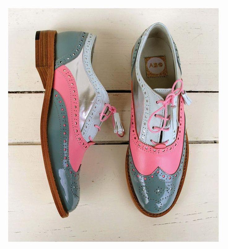 ABO shoes by Iva Ljubinkovic #abo #aboshoes #brogues #fashion #oxfords #flats #oxfordshoes