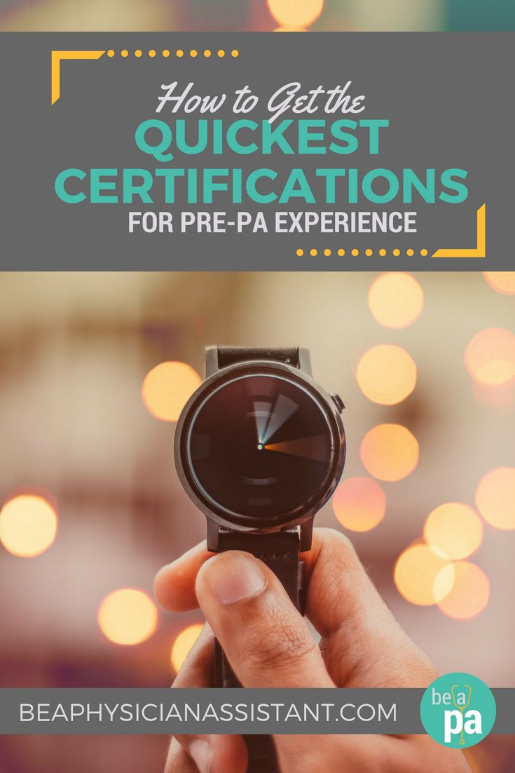 Best 25 pa certification ideas on pinterest cardiac nursing quick certifications for pre pa patient contact experiencebe a physician assistant xflitez Choice Image