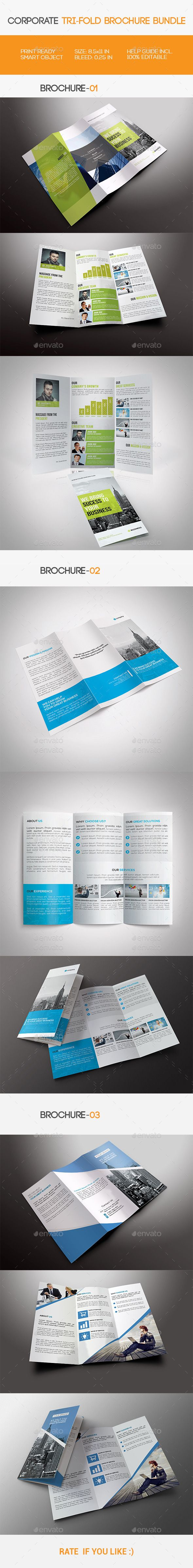 The Best Tri Fold Brochure Template Ideas On Pinterest Tri - Template for brochure