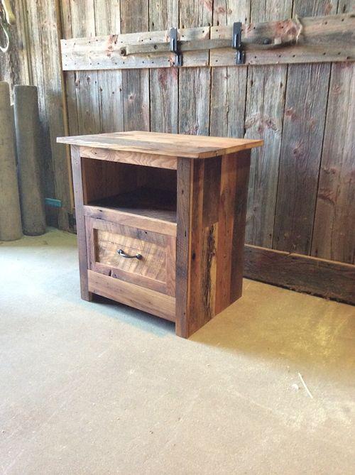 Reclaimed Wood Bedroom Set White Distressed Furniture Sets: Bedroom Furniture Images On Pinterest