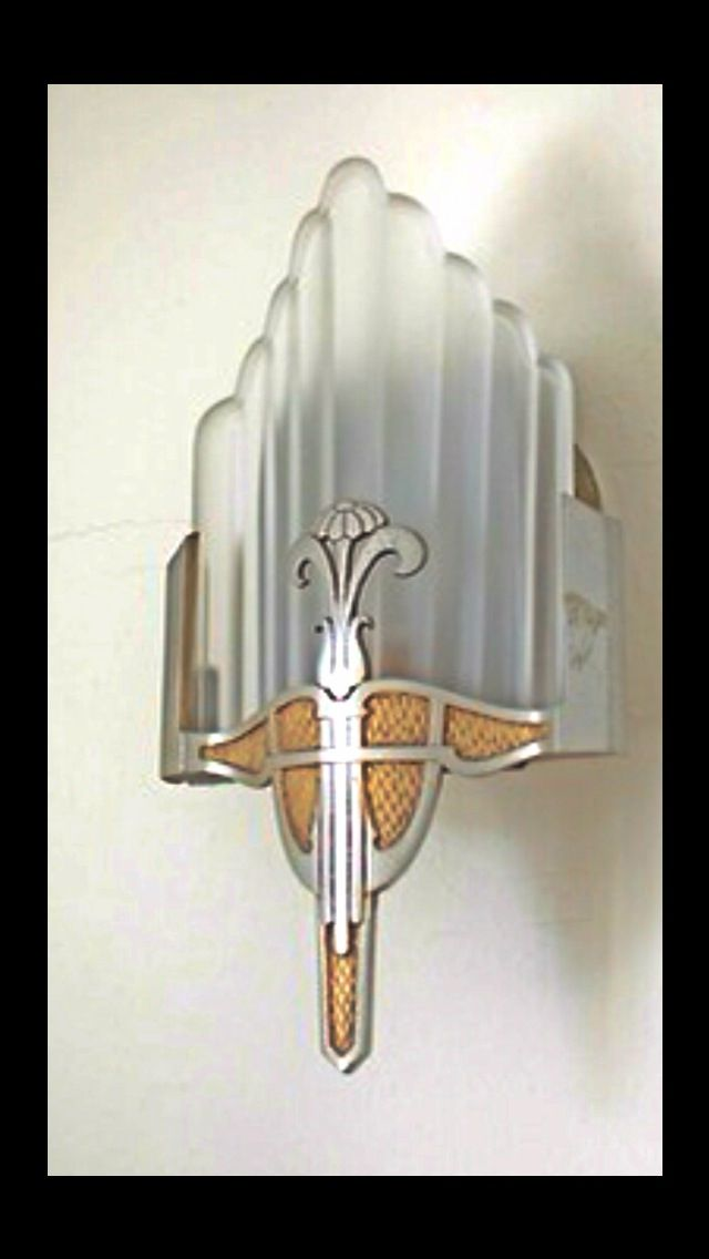 Art Deco Wall Lights : Art deco wall light master bedroom