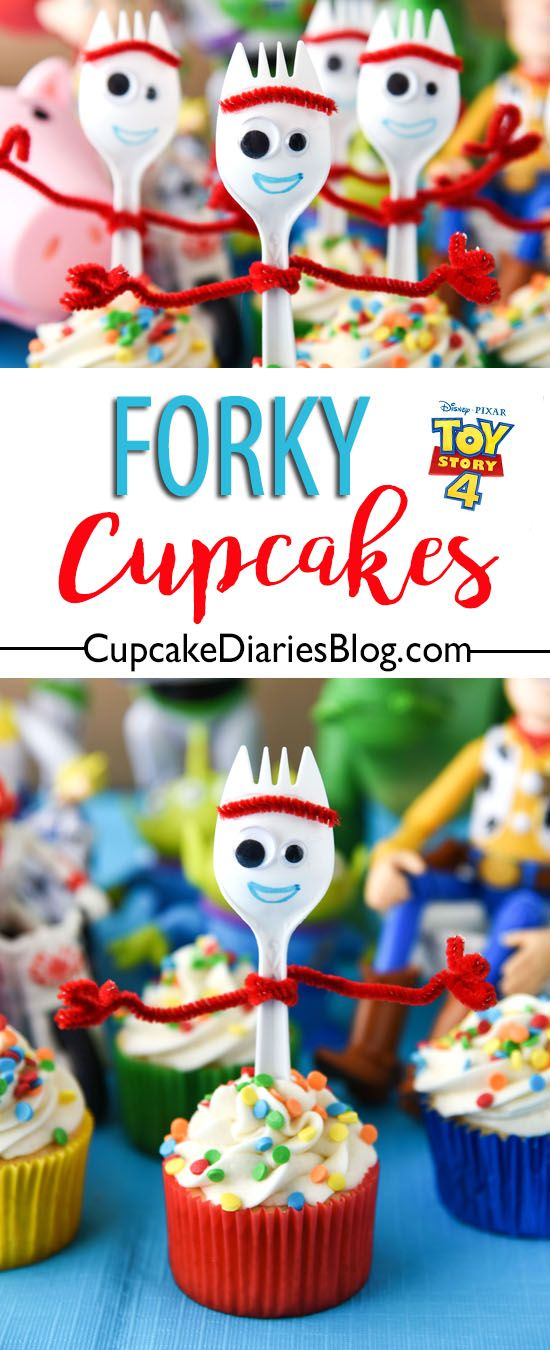 Forky Cupcakes