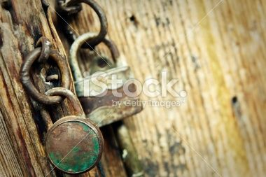 Old padlocks Royalty Free Stock Photo