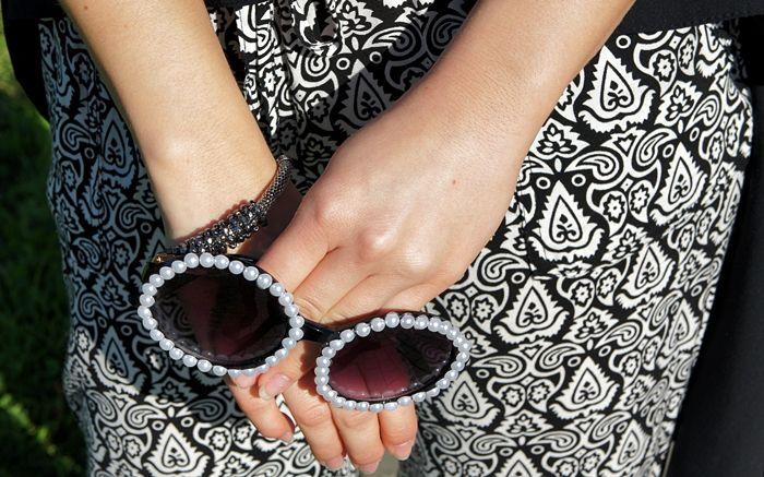 okulary / sunnies - Sinsay + DIY