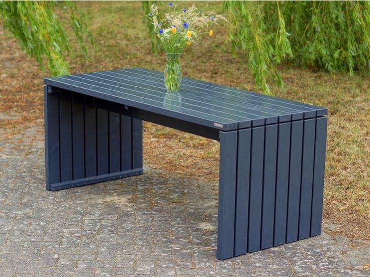 Gartentisch 1 Holz, Farbe: Anthrazit Grau, wetterfestes Holz - Douglasie, in vielen Größen und Farben erhältlich. Jetzt im Online-Shop bestellen!