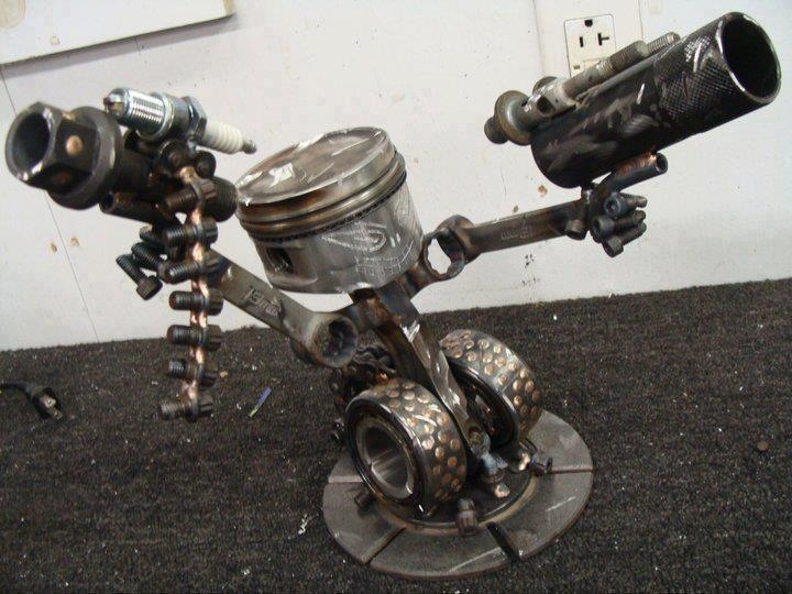 28 Best Images About Upcycle Automotive Art On Pinterest