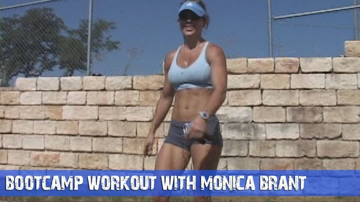Fitness Workout Ideas - Bootcamp Workout With Monica Brant