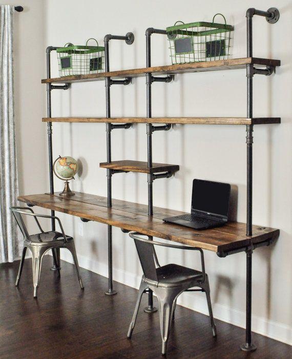 Best 25+ Industrial desk ideas on Pinterest   Industrial ...