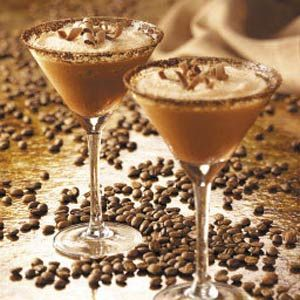 Frosty Mocha Drink ~ This contest-winning recipe is great for any gathering.  You'll have to double or triple the recipe as this one makes 4 servings.  But it only has six ingredients, one of which is ice cubes! For a richer and creamier version, replace the milk with half-and-half cream.