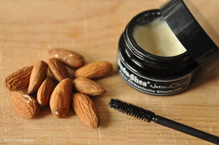 mascara bricolage à partir de deux ingrédients, pas Vaseline