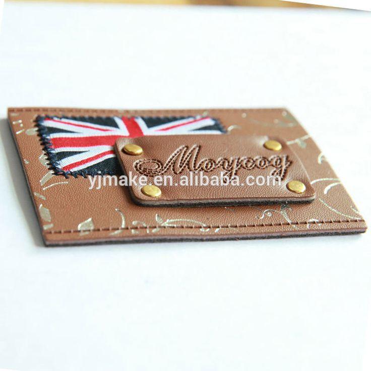 Fábrica feita UV marca imagem Patch de couro etiqueta de couro para Jeans-imagem-Etiquetas de tecido para roupas-ID do produto:60304861442-portuguese.alibaba.com