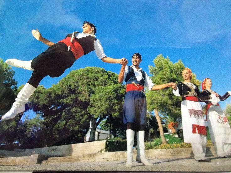 Traditional Cretan dance, Greece