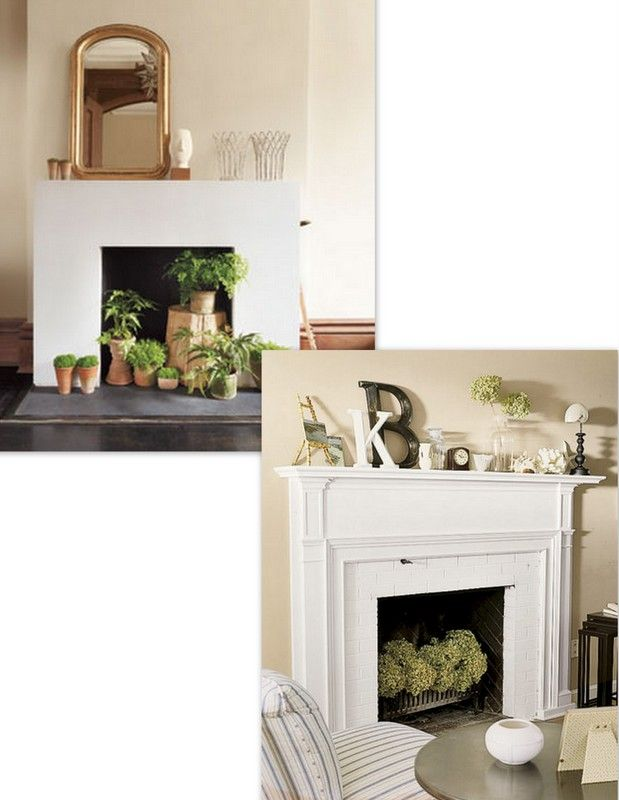 51 best faux fireplace images on Pinterest | Faux fireplace ...