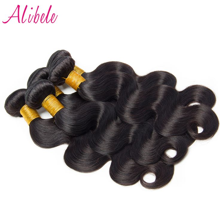 Cheap hair extension, Buy Quality hair natural directly from China hair weave Suppliers: Alibele Brazilian Body Wave Hair Natural Color 100% Human Hair Weave Bundles Can Be Colored 100G/piece Non remy Hair Extensions