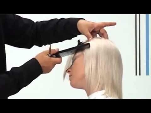 Длинная стрижка и укладка волос - YouTube