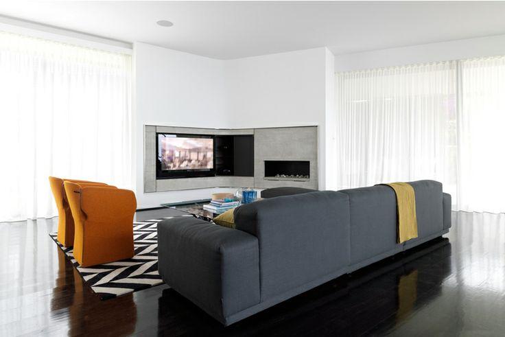 Living Room - Bronte Beach House by Decus Interiors