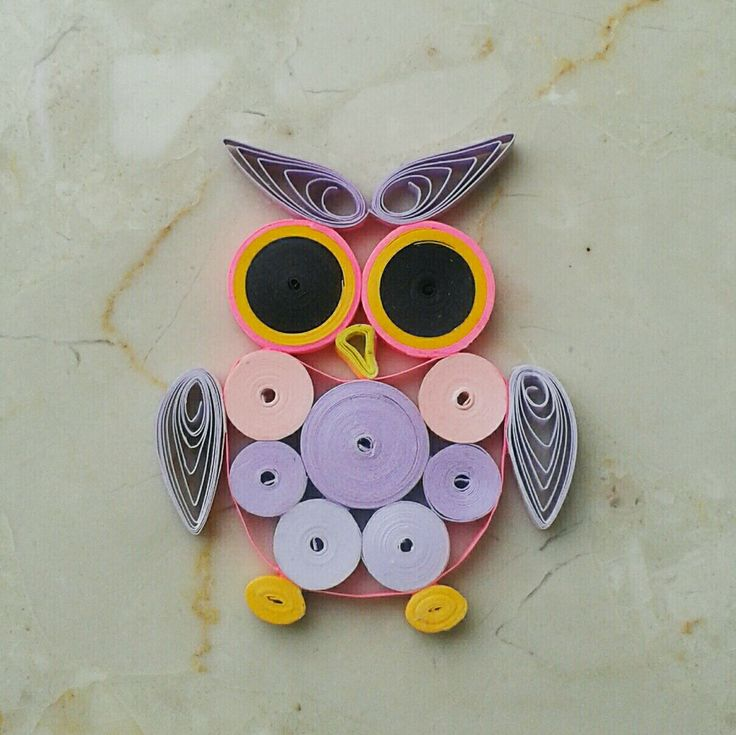 Sowa quilling