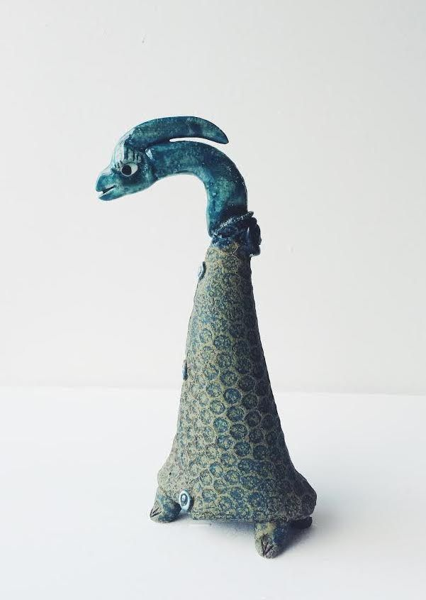 Ginette Wien skulptur – Målrettet fugl - Designbutik