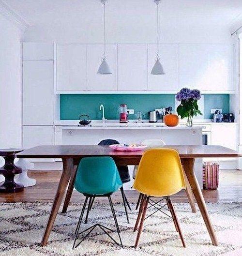#cocinas con #color #diseño de cocinas #linea3cocinas #Madrid