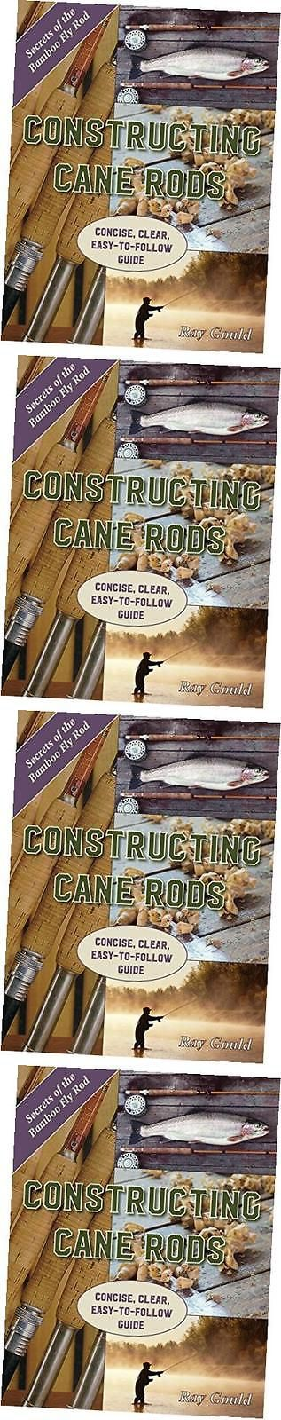 Books and Video 62155: Constructing Cane Rods: Secrets Of The Bamboo Fly Rod: Secrets Of The Bamboo Fly -> BUY IT NOW ONLY: $30.51 on eBay!