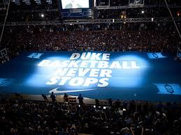 Everyone MUST go to a Duke basketball game at least once in their lifetime......Put it on your bucket list!
