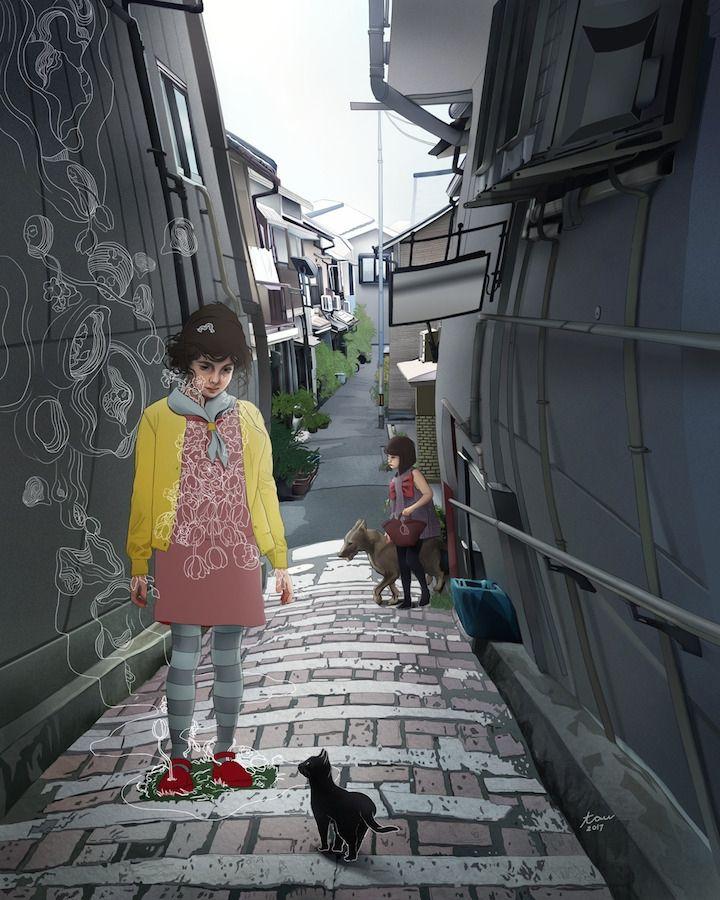 Катрина Тауле, графит и цифра - Все интересное в искусстве и не только.