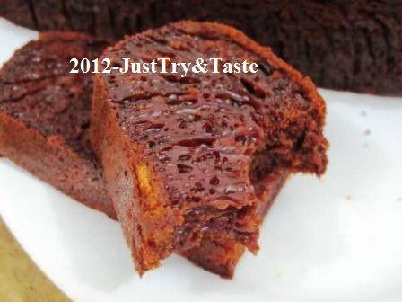 Just Try & Taste: Cake Karamel Sarang Semut - Honeycomb Cake