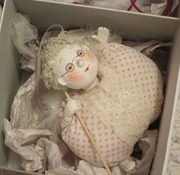 Живопись куклы