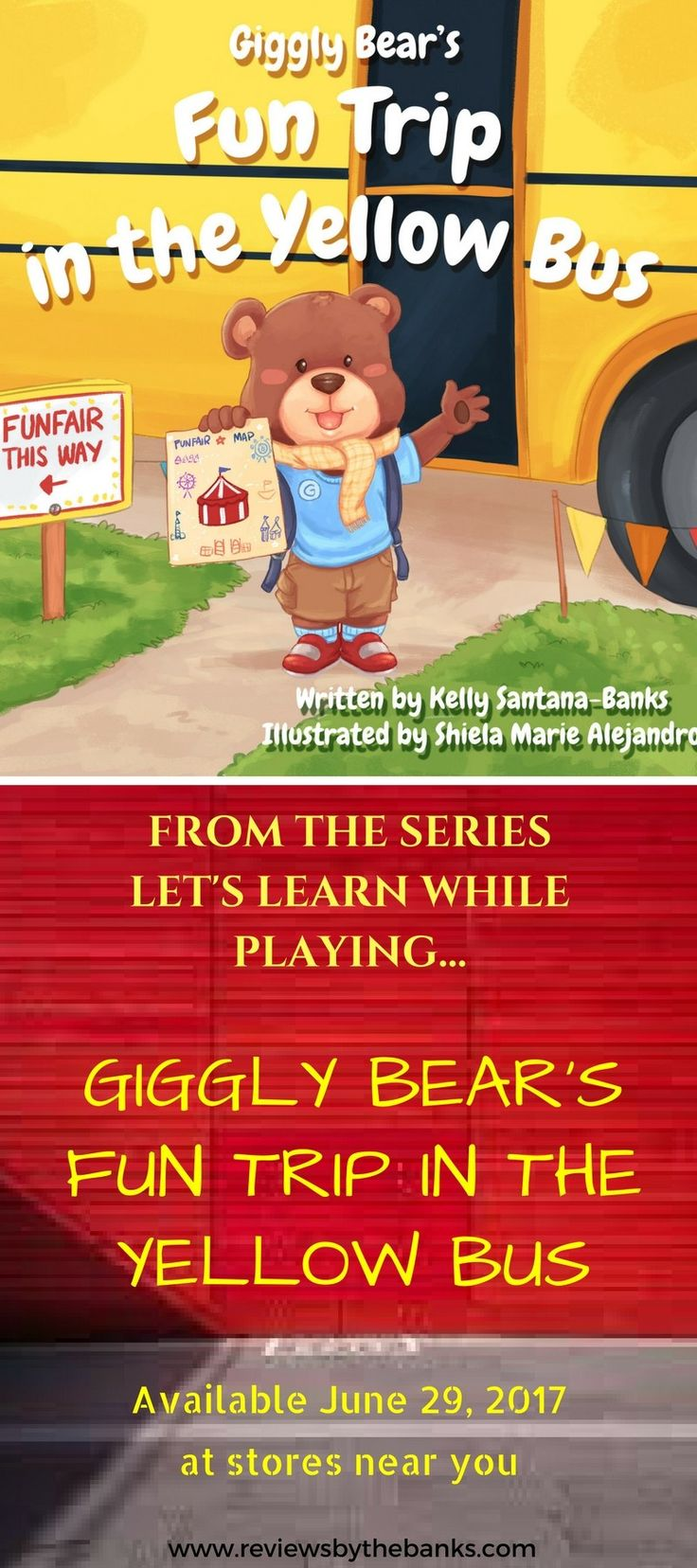 Good parents want to keep children safe. This post is about providing safety tips for parents when their kids travel in the yellow school bus. And Giggly Bear's Fun Trip in the Yellow Bus does the job well.