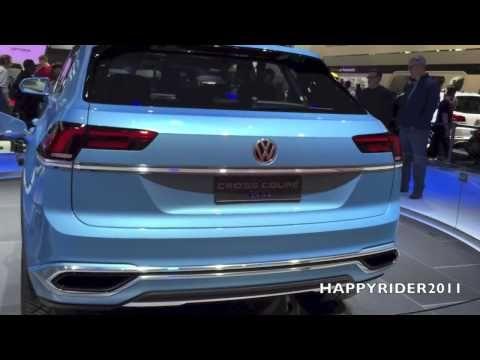 Volkswagen Cross Coupe GTE Concept - 2015 Detroit Auto Show [HappyRider2...