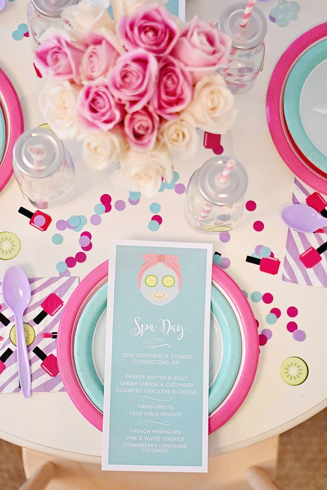 59 best Spa party images on Pinterest Girl spa party, Spa birthday - fresh birthday invitation from a kid