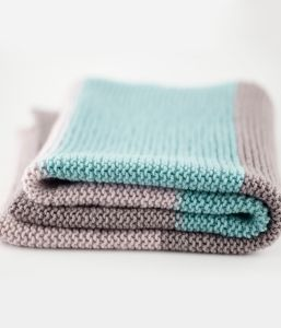 Simple Baby Blanket Knit Kit