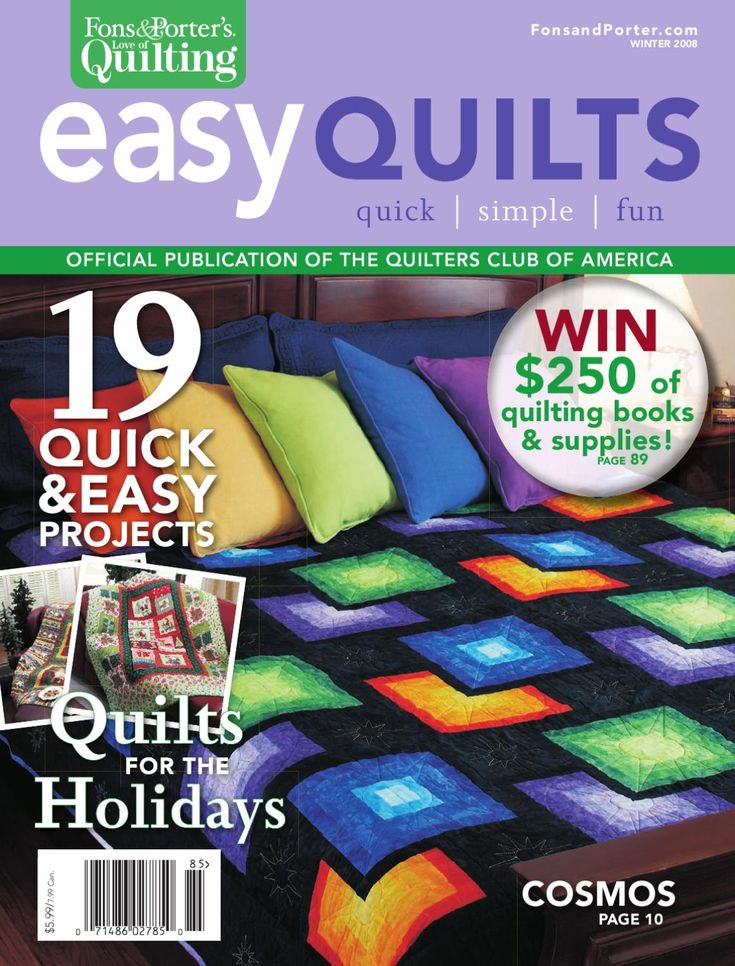 Fons & Porter's Easy Quilts, Winter 2008 by New Track Media