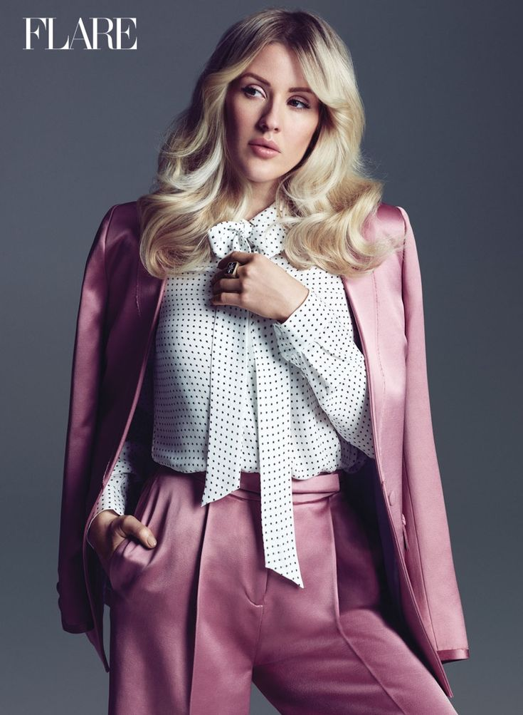 Singer Ellie Goulding graces the summer 2016 cover of FLARE Magazine