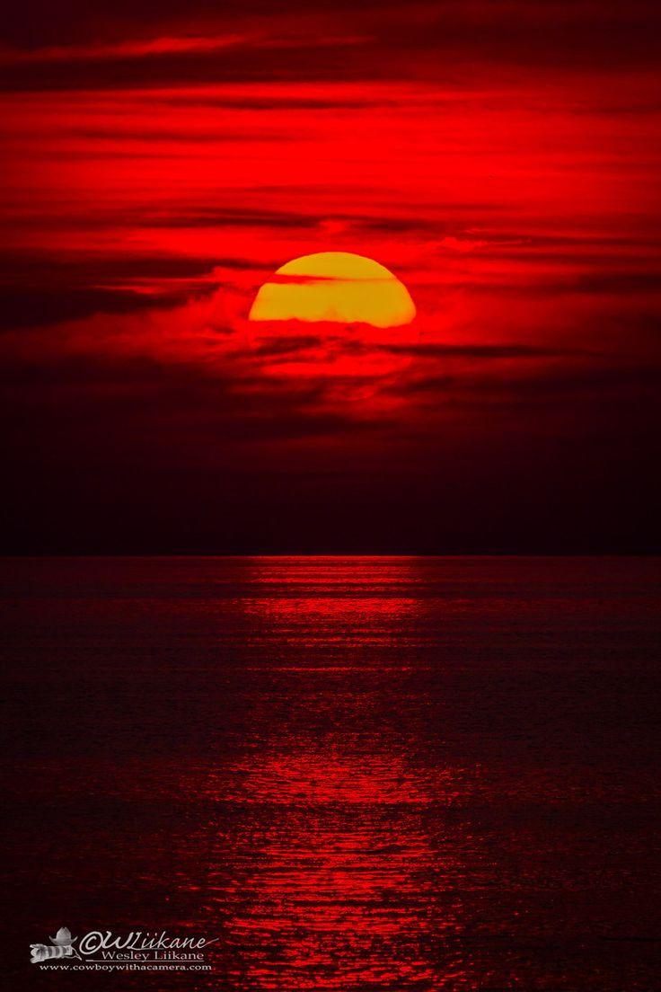Sunset, Wasaga Beach, Ontario, Canada ~ By Wesley Liikane