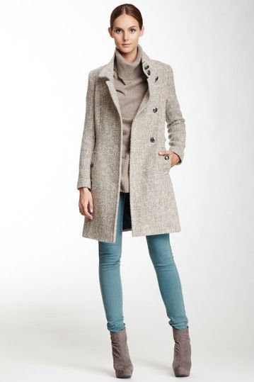 Light gray wool coat...  I miss my old one!