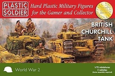 20mm #british #churchill tank - plastic soldier #company ww2 - 1/72,  View more on the LINK: http://www.zeppy.io/product/gb/2/152096330773/