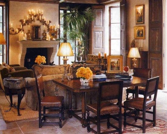 Spanish Living Room Design By Orange County Interior Designer Chris Givan(.