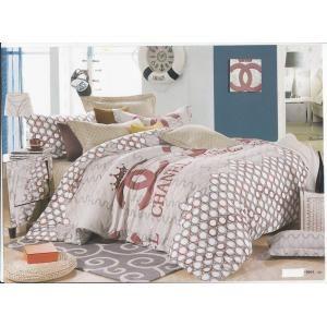 シャネル CHANEL おすすめ ベッドカバー ファッション設計 寝具 ベッドスカート ・ベッドカバー ・枕カバー(ダブル) 4点セット lsd221